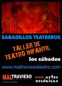 CARTEL SABADILLOS TEATREROS